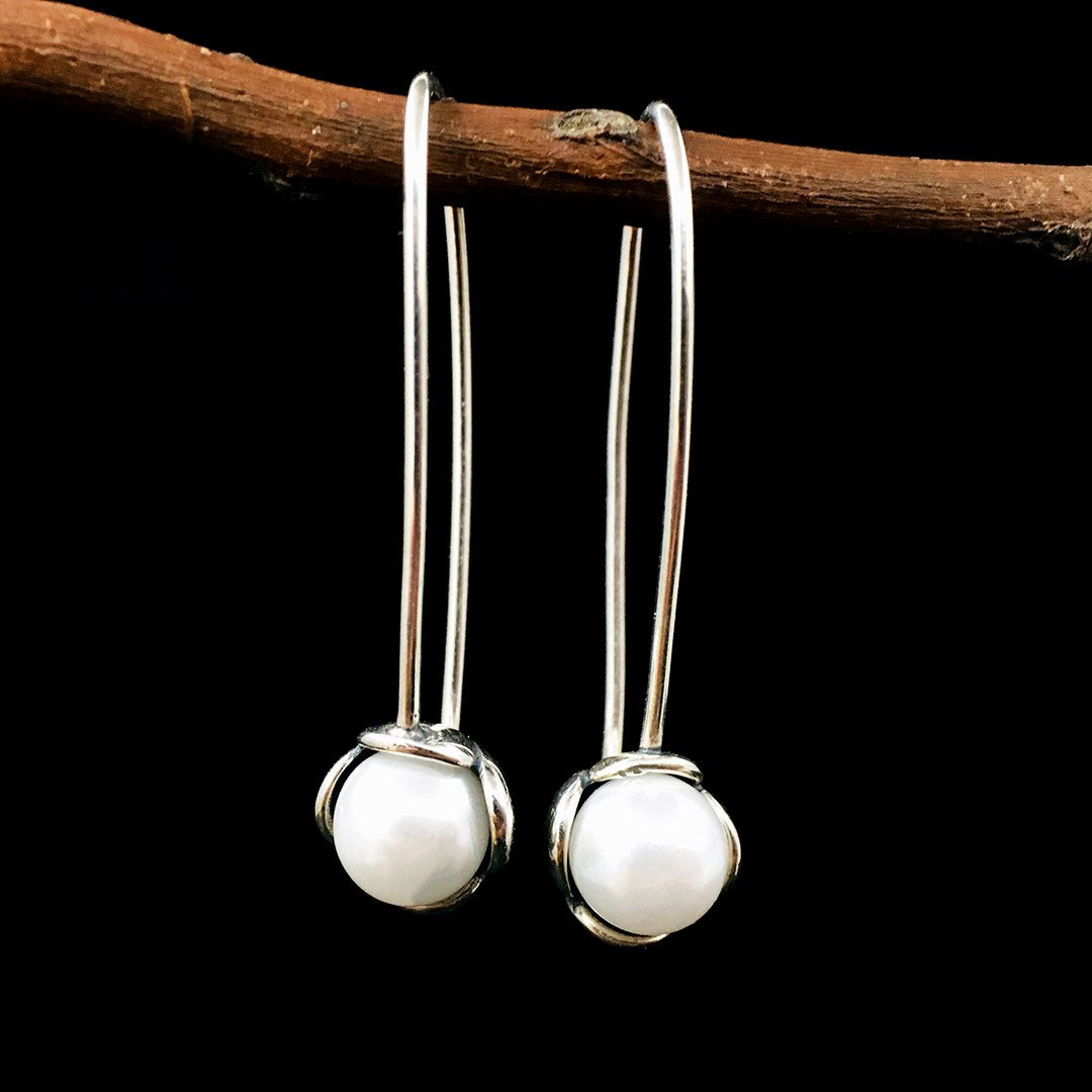 New Look S925 Silver Drop Earrings