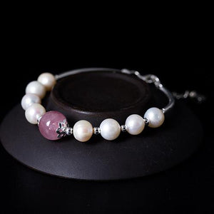 Chic Natural Bead Pearl Bracelet