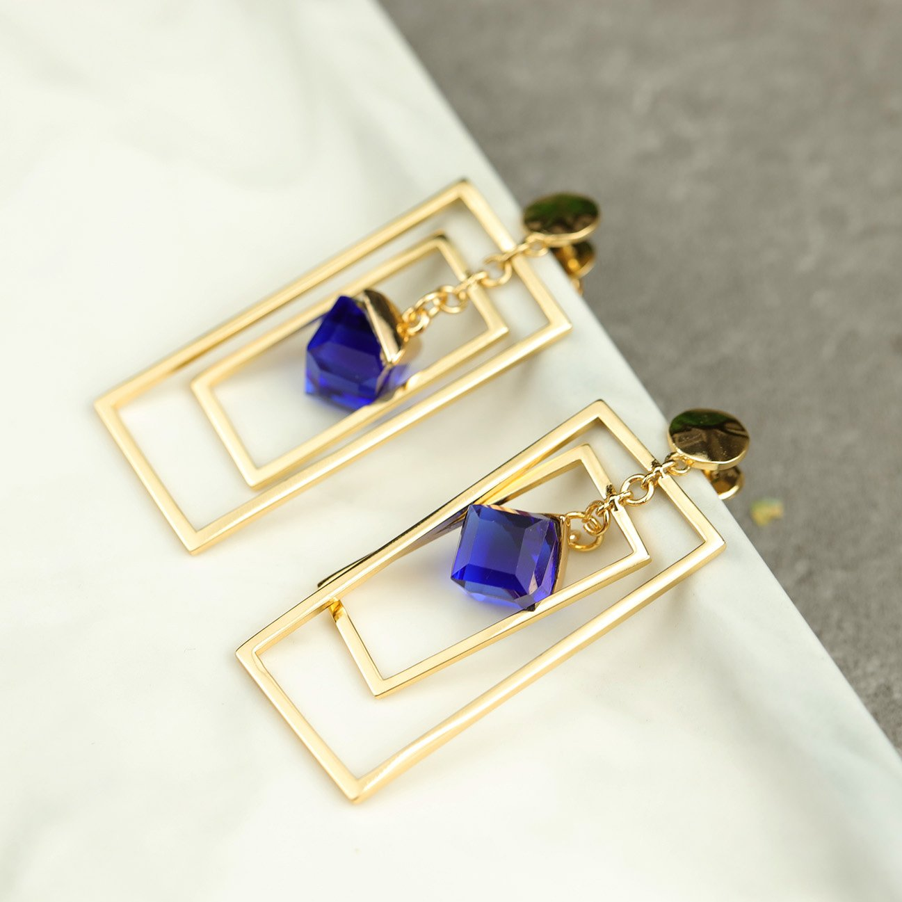 Stylish Geometric Stud Earrings