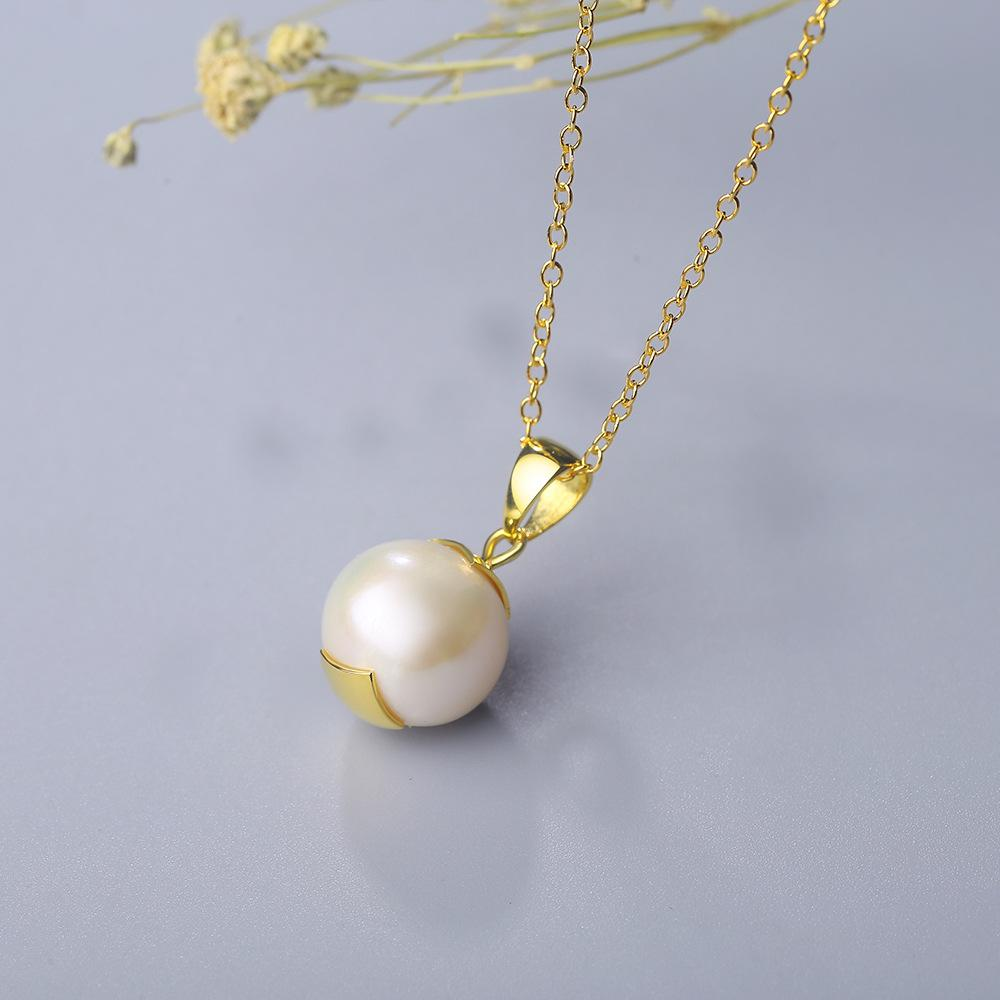Delicate Natural Pearl Necklace
