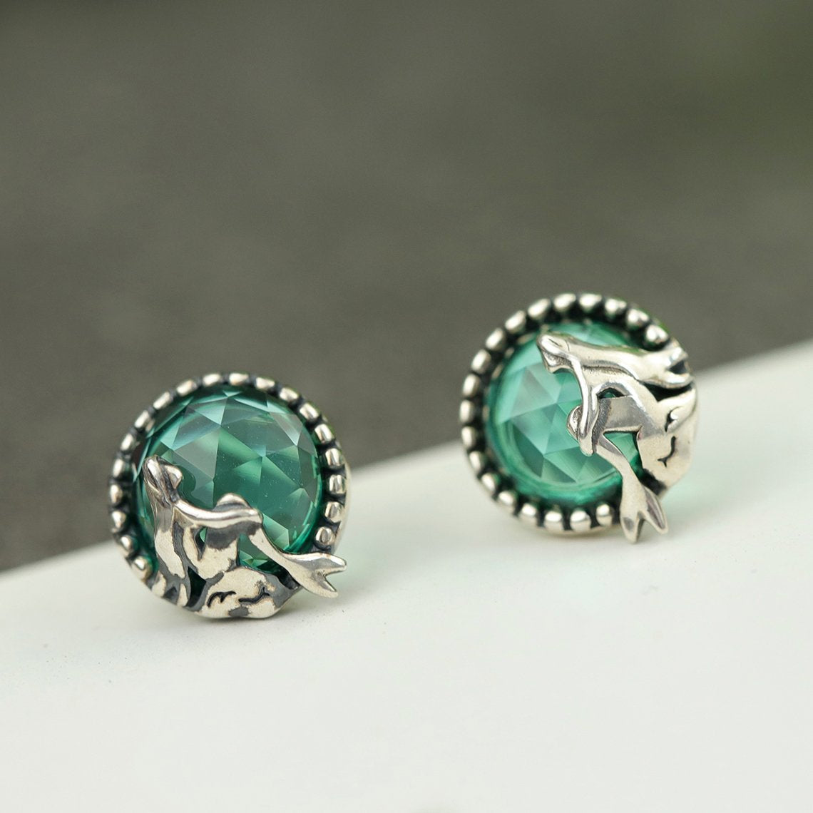 Love of Mermaid Stud Earrings