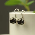 Pure Love Black Pearl Drop Earrings