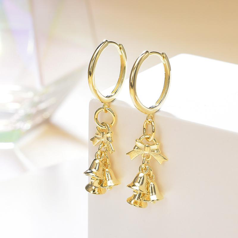 Chic Wind Chimes Leverback Drop Earrings