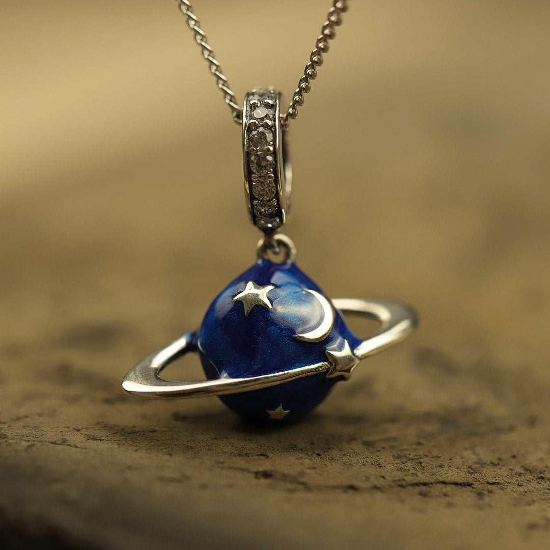 Mysterious Planet Necklace