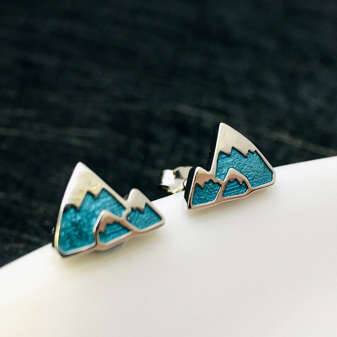 Antiallergic S925 Iceberg Stud Earrings