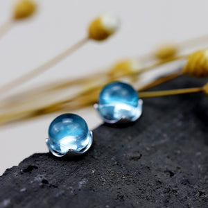 Sweet Crystal Stud Earrings