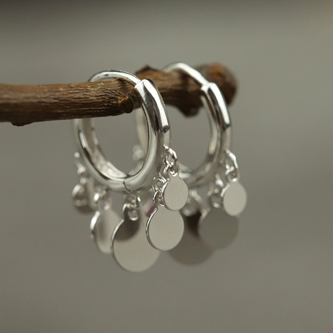 Stunning Bohemia Silver Earrings