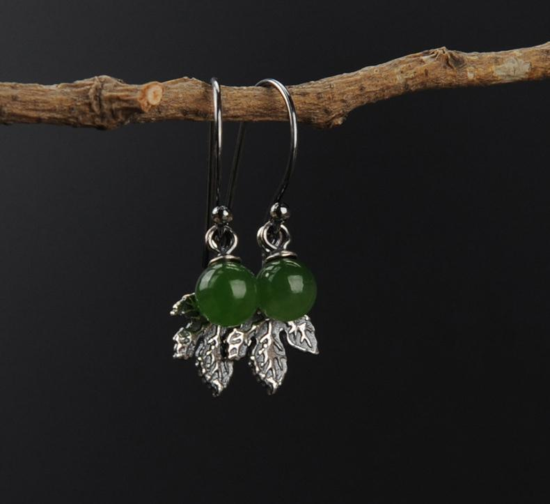 Only You Natural Stone Drop Earrings