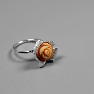 Forever Love Rose Open Ring