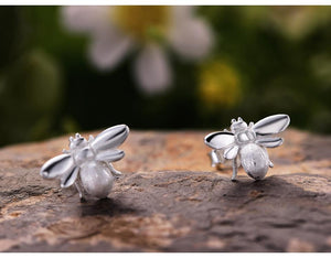Cute Honeybee Stud Earrings