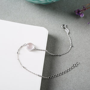 Fresh Rose Quartz Bracelet