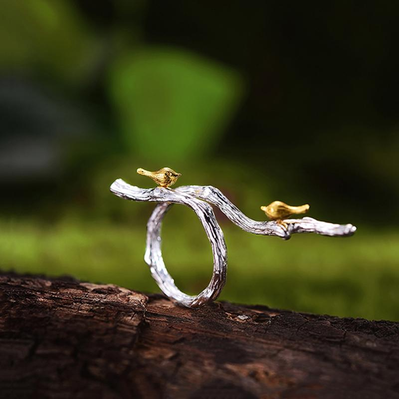 Bird on Branch Rings