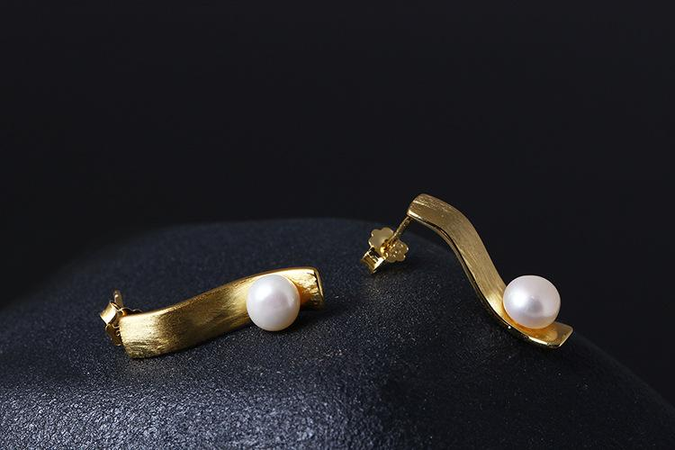 Stylish Pearl Earrings