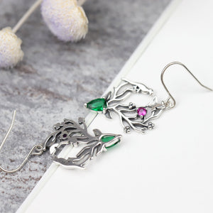 Forest Story Drop Earrings