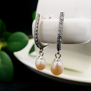 Chic Style Natural Pearl Earrings