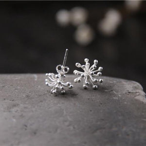 Stunning Dandelion Stud Earrings
