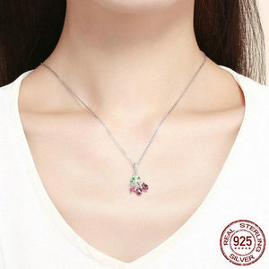 Chic Colorful Pendant with Chain