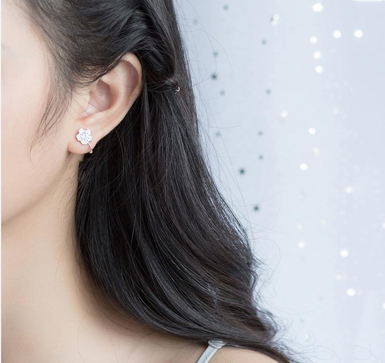Non-piercing Sakura Clip-on Earrings
