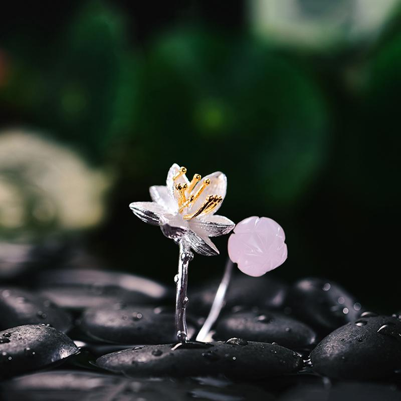 Handmade Lotus Whispers Rings
