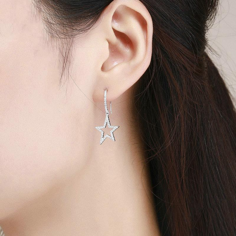 Chic Dreamy Star Drop Earrings