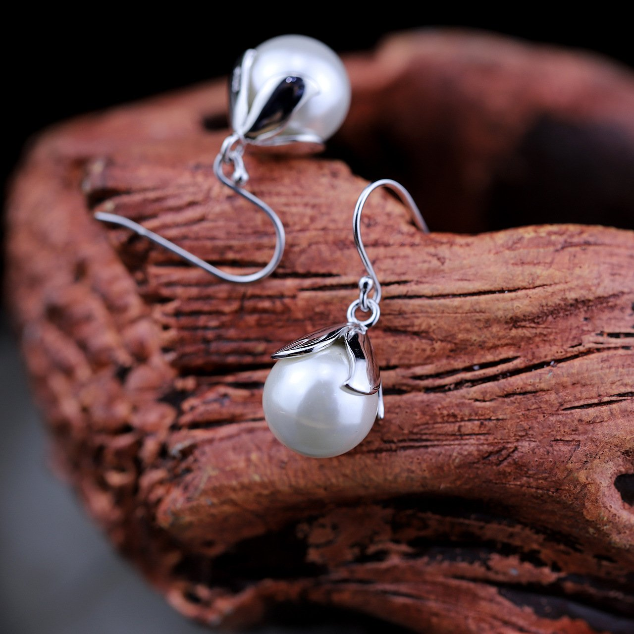 Stunning Handmade Silver Drop Earrings