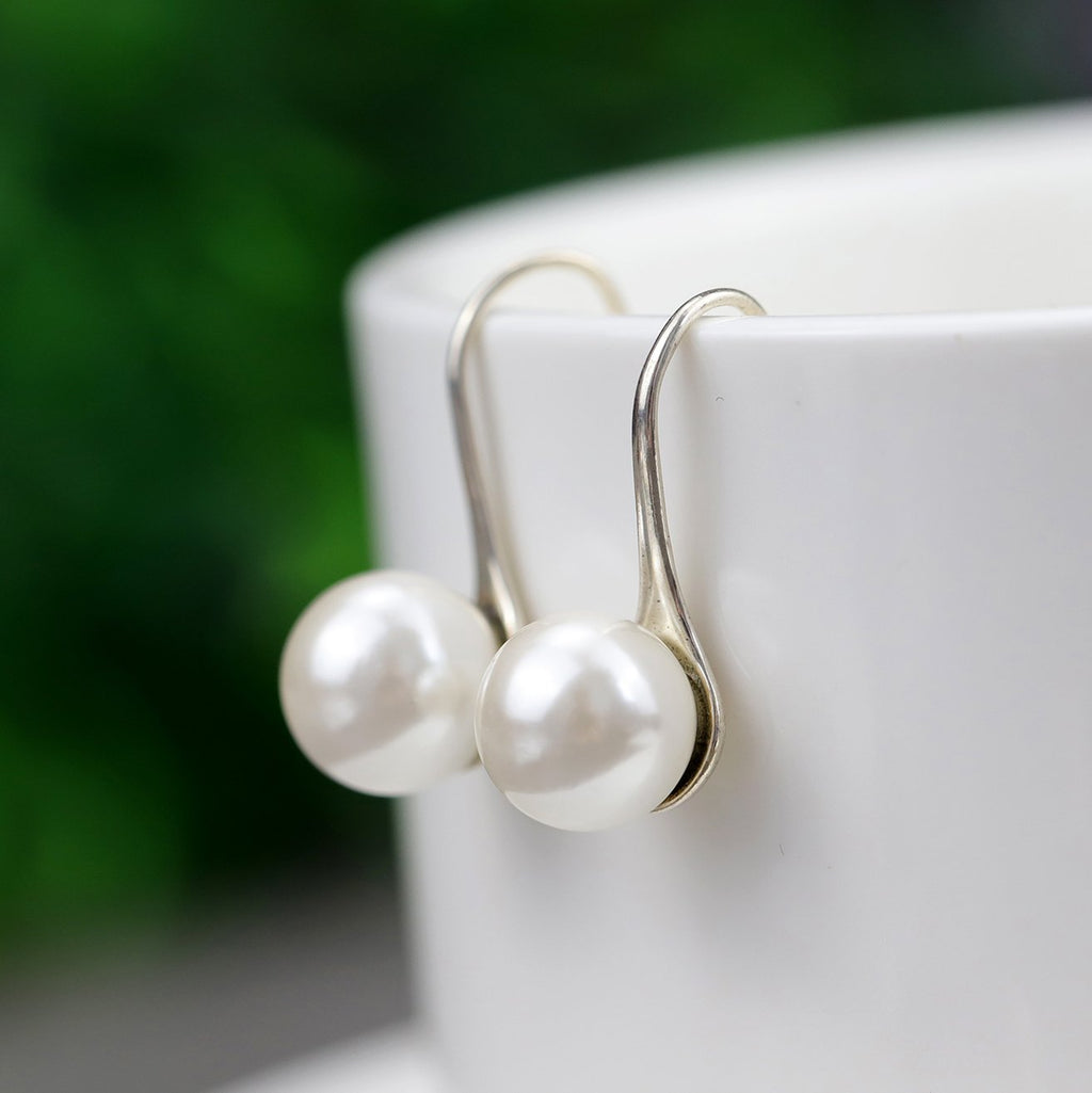 Pure Love Pearl Drop Earrings