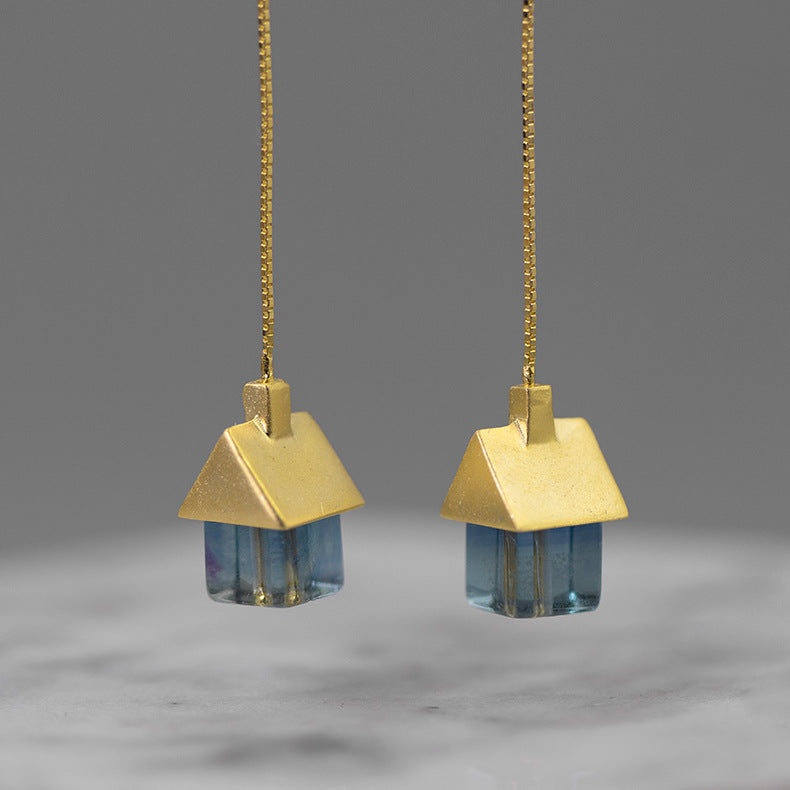 My Little House Drop Earrings