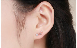 Shining Stars Stud Earrings