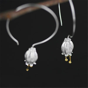 Fresh Bell Flower Dangle Earrings