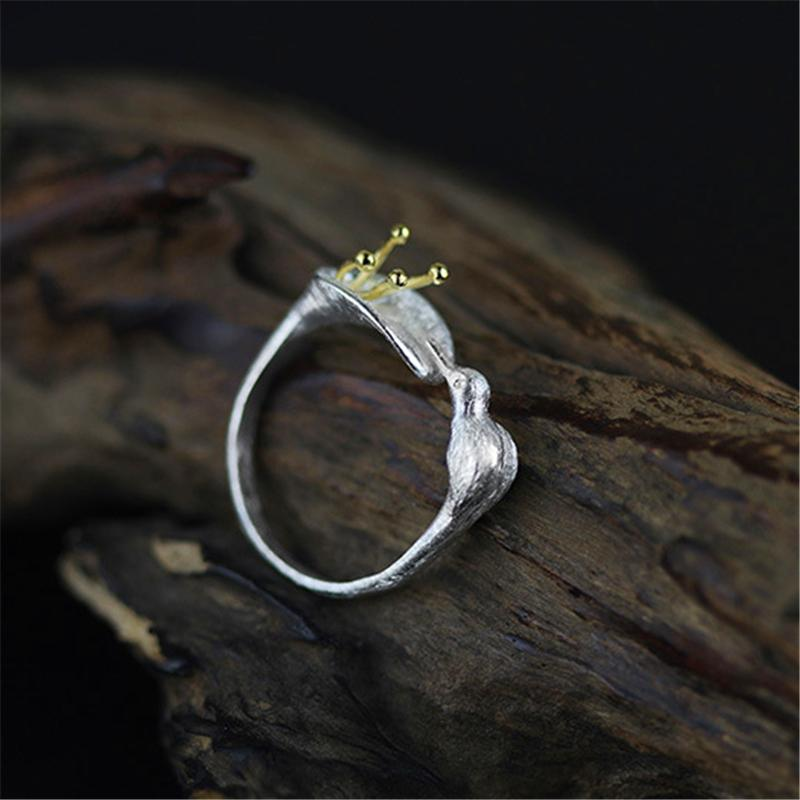 Adjustable Hummingbird Rings