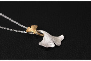 Ginkgo Leaves Necklace
