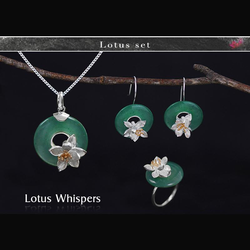 Lotus Whispers Jewelry Set