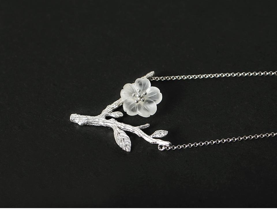 Flower in the Rain Necklace