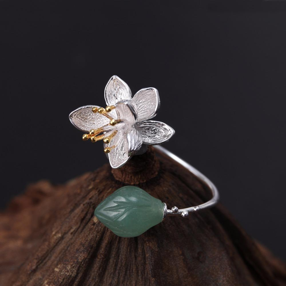 Lotus Whispers Ring