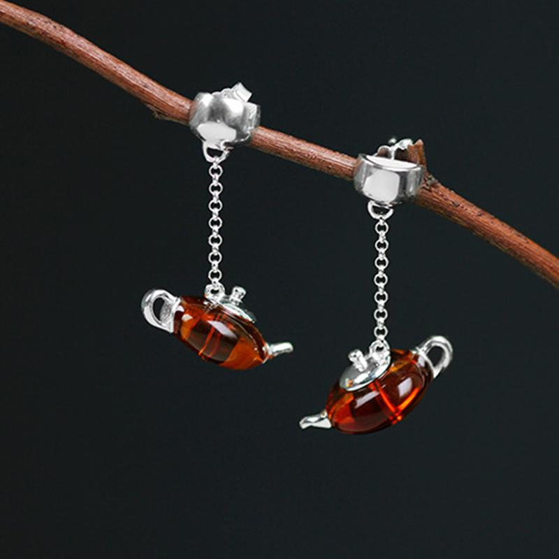 Cute Teapot Jewelry Set