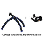 Flexible Mini Tripod and Tripod Mount