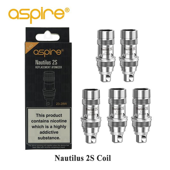 Nautilus 2S Replacement coils