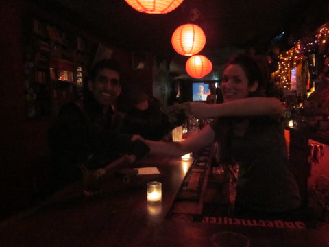 Tipping the bartender