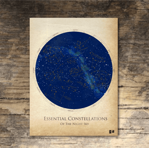 Essential Constellations Poster