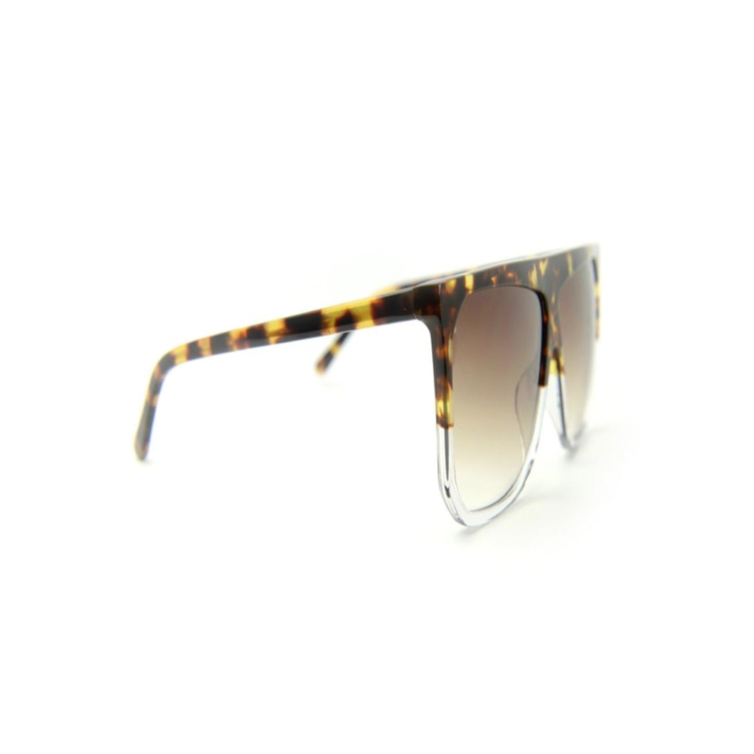 Eight Acetate Sunglasses - Tiger Transparent
