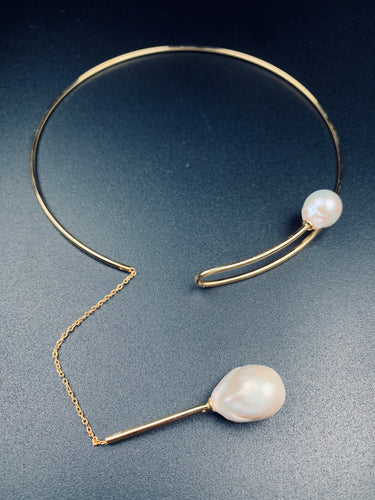 Pearl Necklace Round