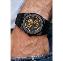 Gold Skeleton Eight Watch