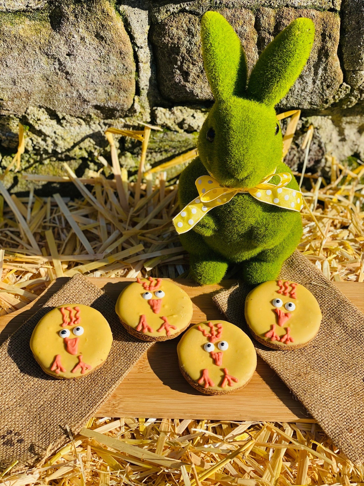 Easter Chick Biscuit (pack of 3)