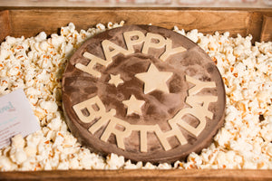 Birthday Chocolate Disc