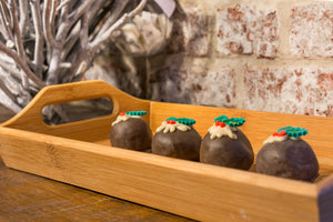 Christmas Pudding Truffle (pack of 3)