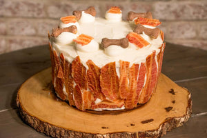 Spud (Mutt Butter & Bacon Cake)