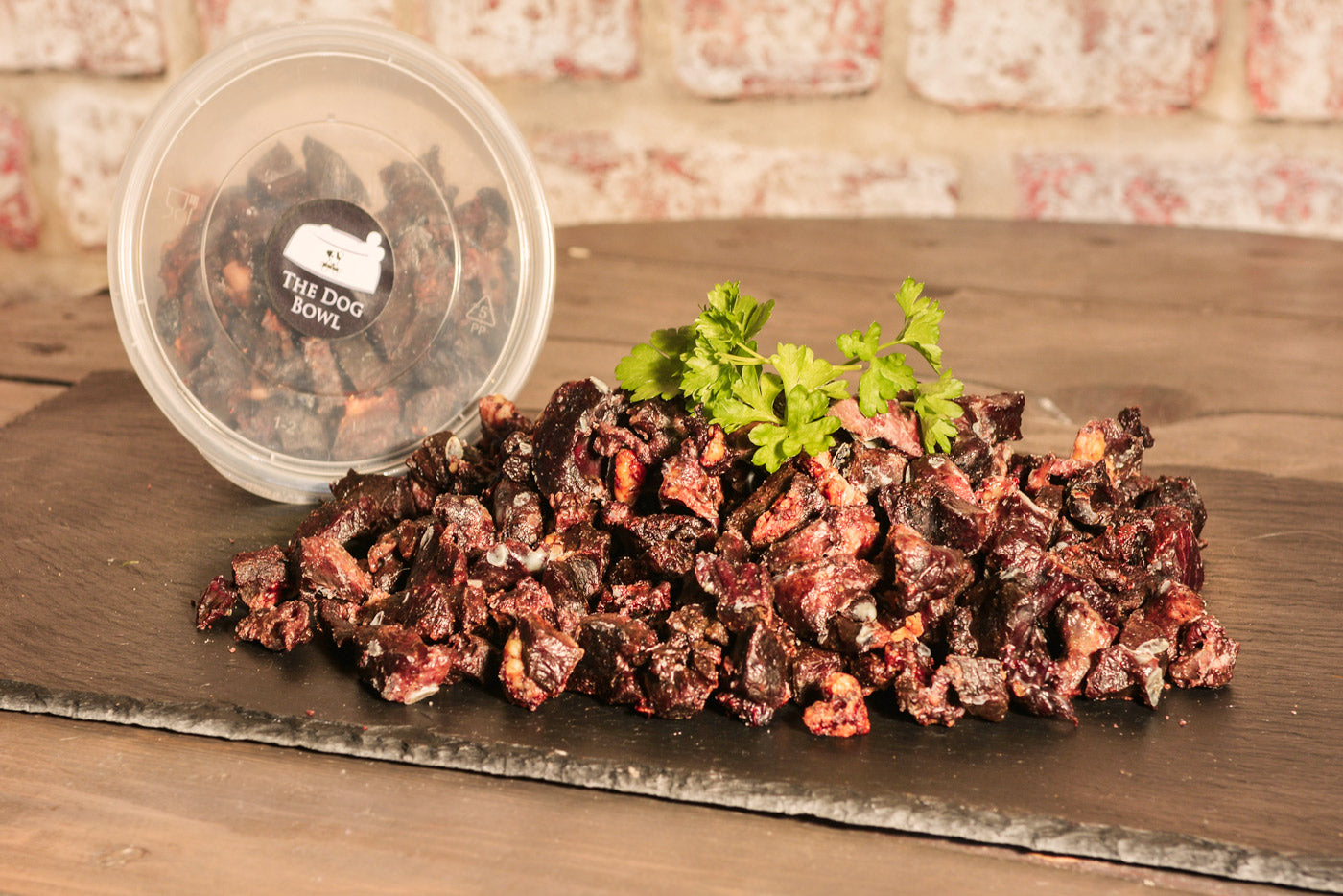 Roasted Ox Heart Training Treats