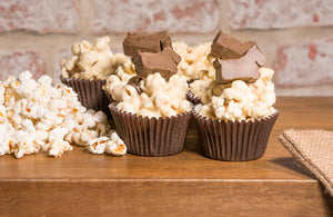 Popcorn Pupcake (pack of 4)