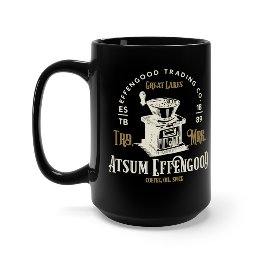 Atsum Effengood Black Mug-Original