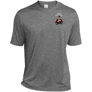 TST360 Tall Heather Dri-Fit Moisture-Wicking T-Shirt - Atsum Effengood Coffee